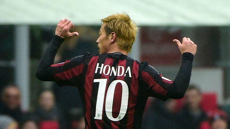 Keisuke Honda Gelandang AC Milan