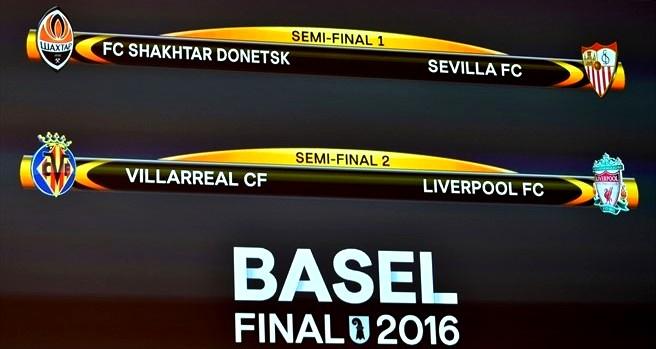 Hasil Drawing Semifinal Liga Europa