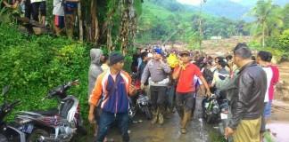 banjir bandang di desa sukakerti