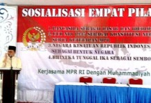sosialisasi 4 pilar kebangsaan -