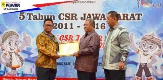 Penghargaan CSR UP Sgl dari Prov Jabar