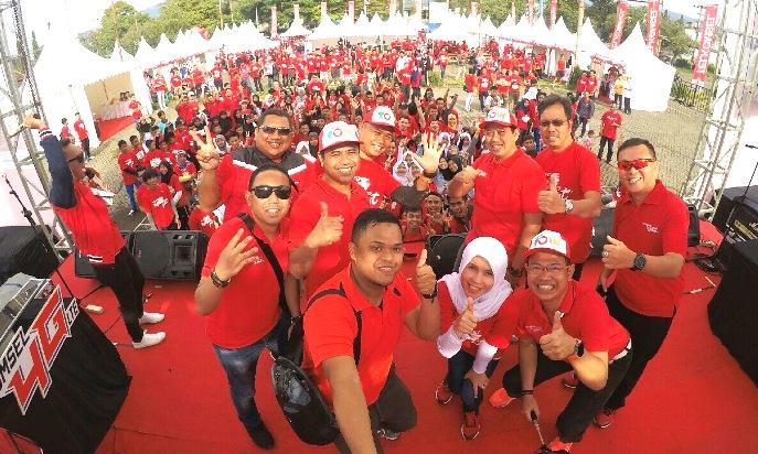 Telkomsel 4G Fest