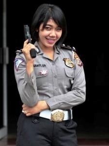 Bripda Kinanti Ulfa Aristi  BA Satlantas Polres Bandung
