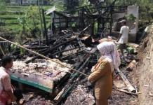 kebakaran tewaskan 3 anak -
