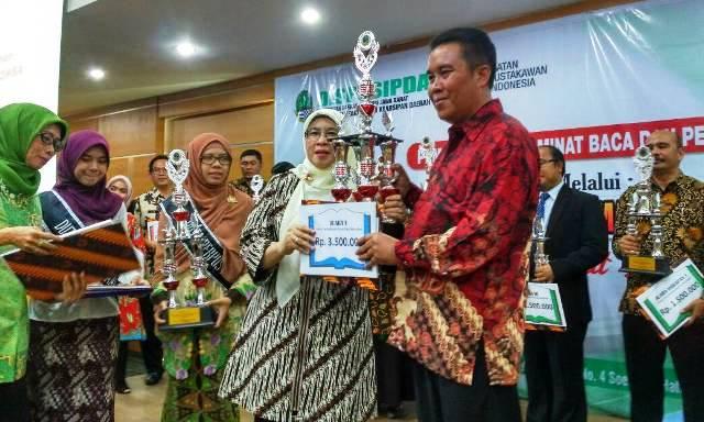 lomba Perpustakaan Desa tingkat Provinsi Jawa Barat-Desa Margamukti