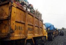 pengangkutan sampah ke TPA.