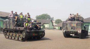 Yon Armed 4105 Kodam III Siliwangi - Polres Cimahi