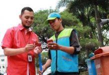 Telkomsel dan Dinas Kebersihan Kota Bandung