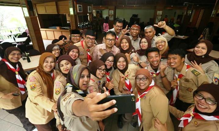 Pramuka Kekinian untuk Kemajuan Bangsa Indonesia