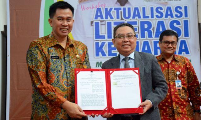 Dispusipda Jabar, Uninus, dan Bank Indonesia
