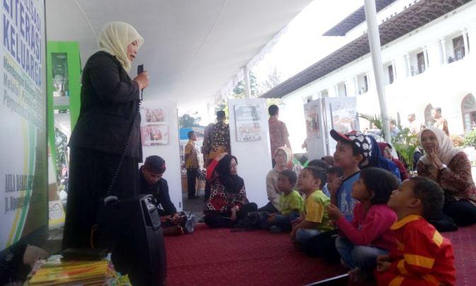 pameran literasi