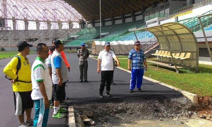 Persiapan Stadion Patriot Dikebut