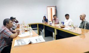 Bupati Bandung Barat Terpilih Kunjungi Kantor Jabar Ekspres