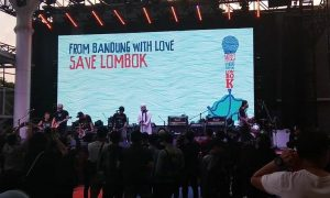 from bandung with love save lombok