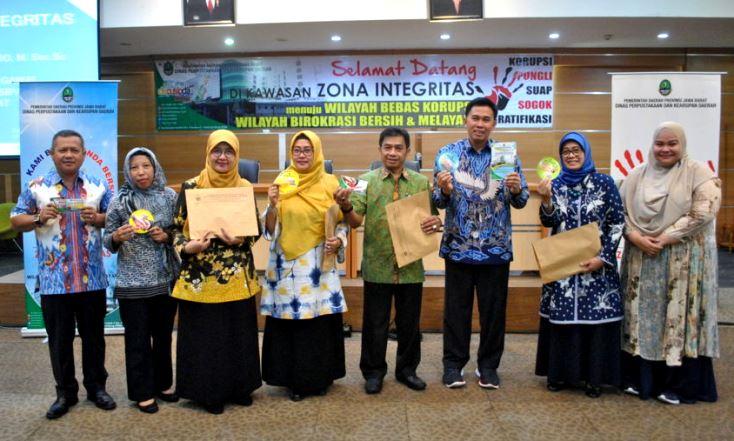 Dispusipda Jabar Deklarasikan Zona Integritas-rerer
