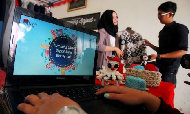 Peresmian Kampung UKM Digital Kampung Rajoet