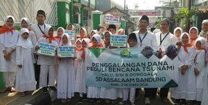 Assalam Galang Dana Bantu Korban Gempa