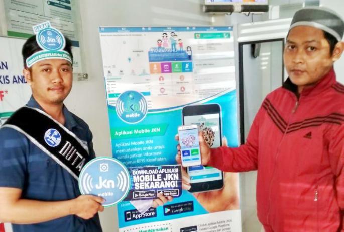 Bpjs Kesehatan Kantor Kabupaten Bandung Barat Sediakan Duta Mobile Jkn Untuk Bantu Peserta Jkn Kis Jabarekspres Com