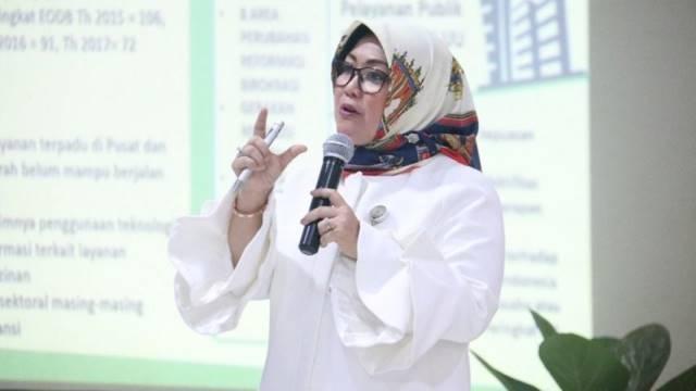 Deputi Bidang Pelayanan Publik Kementerian PAN-RB Diah Natalisa -