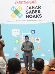 Jabar Saber Hoaks Upaya Membangun Kondusifitas di Jawa Barat