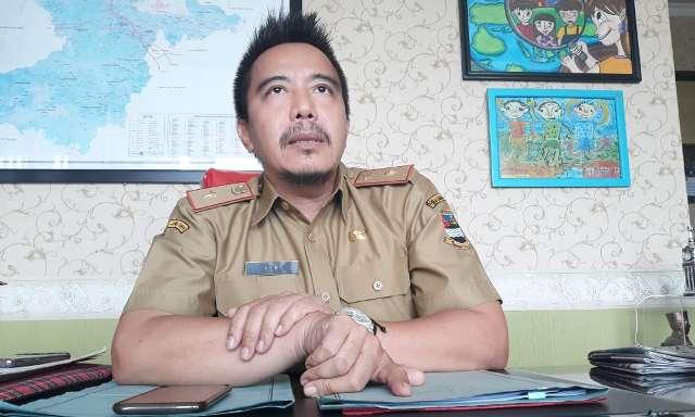 Kepala Dinas Sosial Kabupaten Bandung Barat Heri Partomo