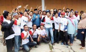 Komunitas tukang ojeg Kabupaten Garut dukung Jokowi-Maruf