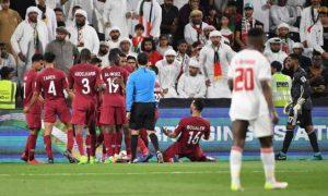 timnas qatar menang