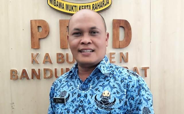 Kasubbag Pemberitaan pada Humas Setda Bandung Barat, Efhi