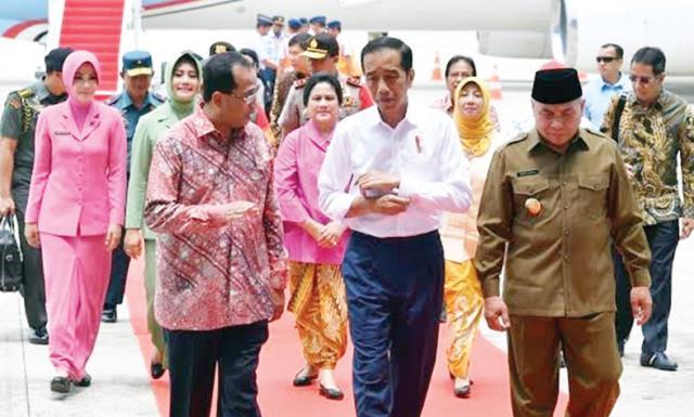 Jokowi-Plangkaraya