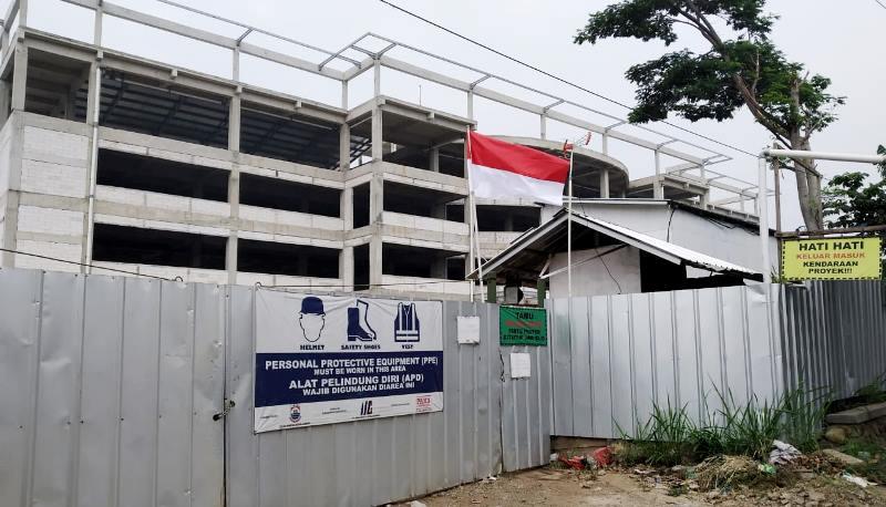 TAK ADA AKTIVITAS: Kawasan pembangunan Mal Pelayanan Publik (MPP) Kota Cimahi.(ilustrasi)