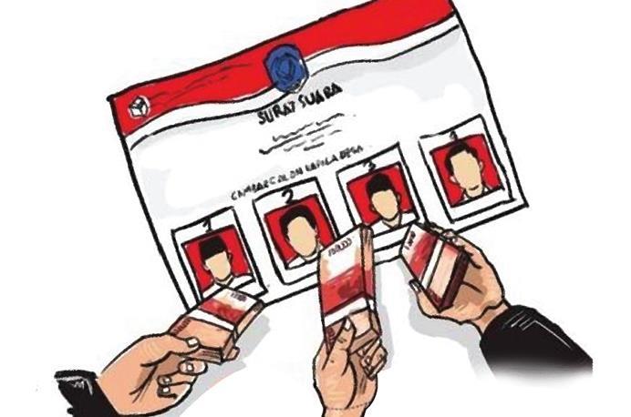 Ilustrasi Pemilihan Kepala Desa (Pilkades)