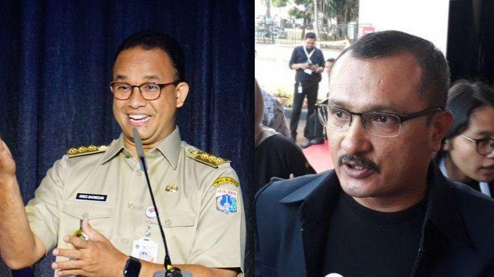 Gubernur DKI Jakarta Anies Baswedan - Politisi Demokrat Ferdinand Hutahaean