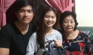 Kaesang Pangarep waktu bersama Felicia Tissue dan keluarganya. (@Meilia_lau/Instagram)