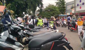Kondisi Parkir Liar yang ditemukan di Kota Bandung