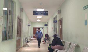 Situasi Rumah Sakit Umum Daerah (RSUD) Cicalengka pada Selasa (20/4). Yanuar Baswata