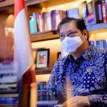 Menteri Bidang Perekonomian airlangga Hartarto
