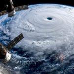 Foto Satelit ketika Badai Super Hagibis (Super Typhoon Hagibis) menghantam Jepang