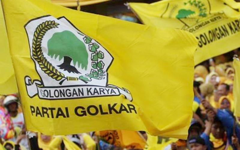 Bendera Partai Golkar (Ilustrasi)