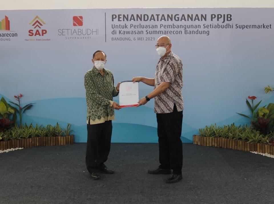 Kerjasama antara Summarecon dengan Setiabudi Supermarket