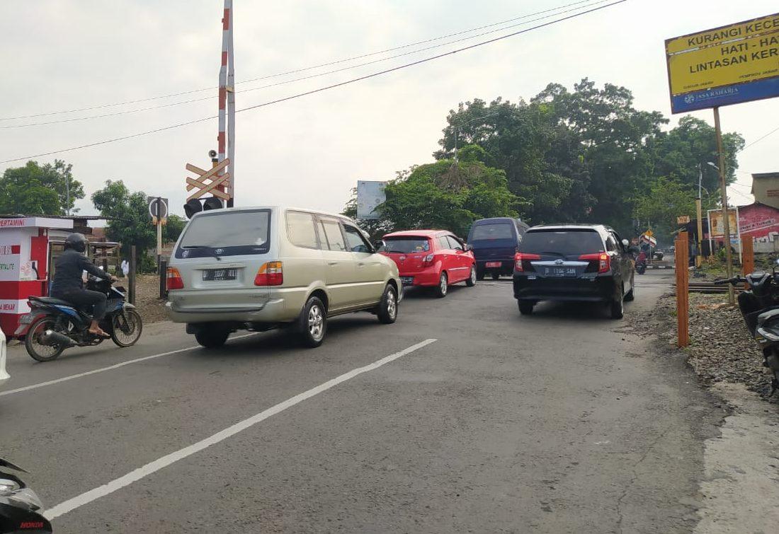 Area Underpass Sriwijaya di Kelurahan Baros, Kecamatan Cimahi Tengah, Kota Cimahi.