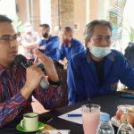 Wakil Bupati Bandung Sahrul Gunawan, saat bersilaturahmi dengan PWI Kabupaten Bandung, Jumat (21/5).