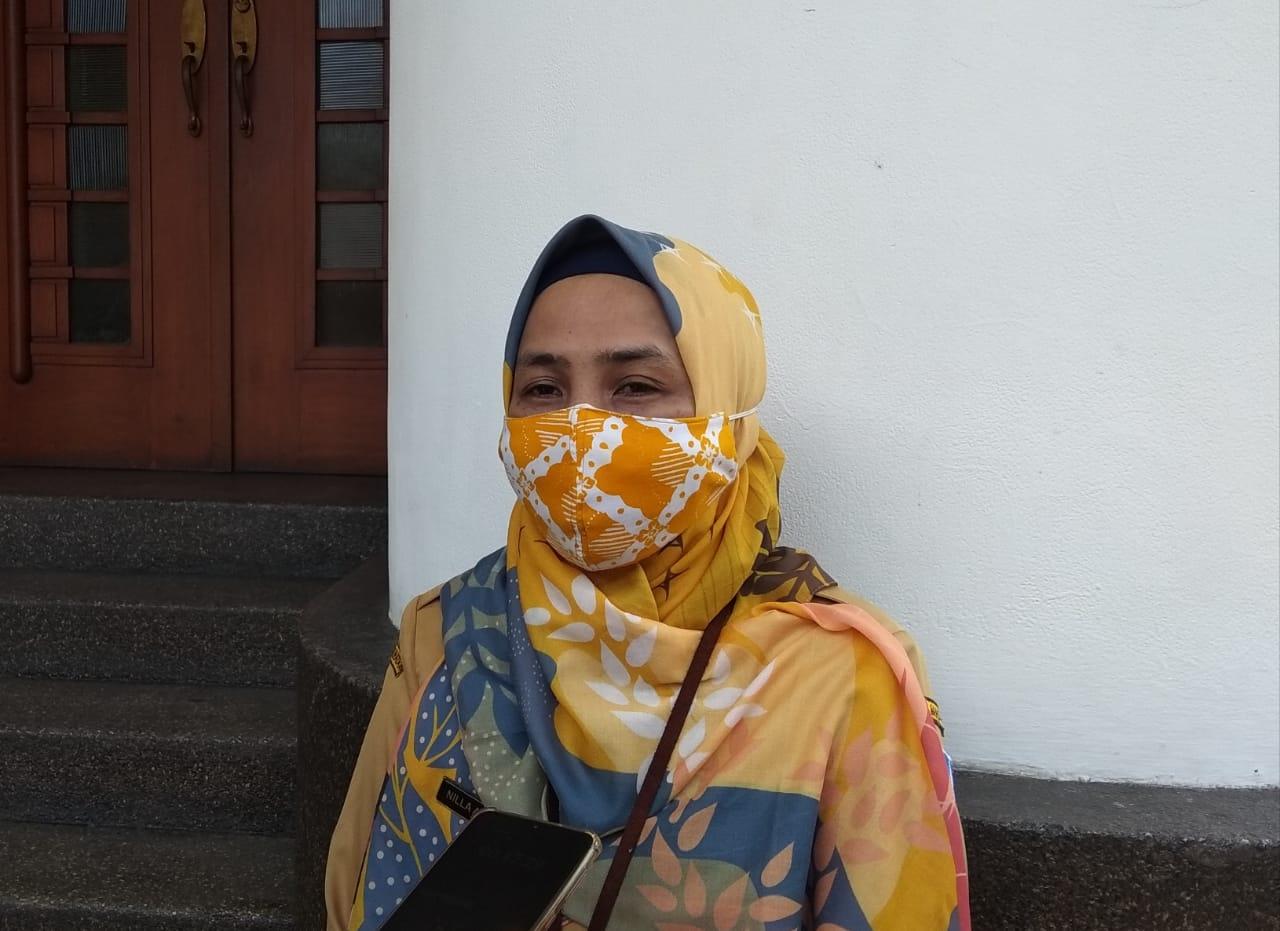 Kepala Seksi Promosi dan Pemberdayaan Masyarakat Dinas Kesehatan (Dinkes) Kota Bandung, Nilla Avianty. (Foto: Nurrani Rusmana/Jabar Ekspres)