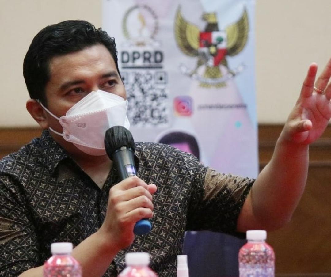 Sekretaris Komisi II Dewan Perwakilan Rakyat Daerah (DPRD) Jabar, R Yunandar Rukhiadi Eka Perwira.