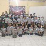 Peserta pelatihan tari gratis yang digelar di Kantor Kelurahan Sukamaju