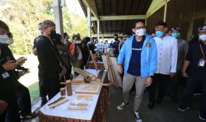 Menteri Pariwisata dan Ekinomi Kreatif, Sandiaga Salahudin Uno.