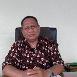 Kepala Desa (Kades) Babakan Peuteuy, Endang Sutisna saat ditemui Jabar Ekspres di tempat kerjanya, Jumat (28/5).