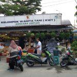 Kebun KWT Kelurahan Rancaekek Kencana, Kecamatan Rancaekek, Kabupaten Bandung, Senin (24/5). Yanuar Baswata