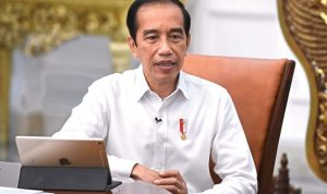 Presiden Joko Widodo (Jokowi) menargetkan angka vaksinasi harian bisa mencapai 2 juta dosis per hari. (dok Setpres)