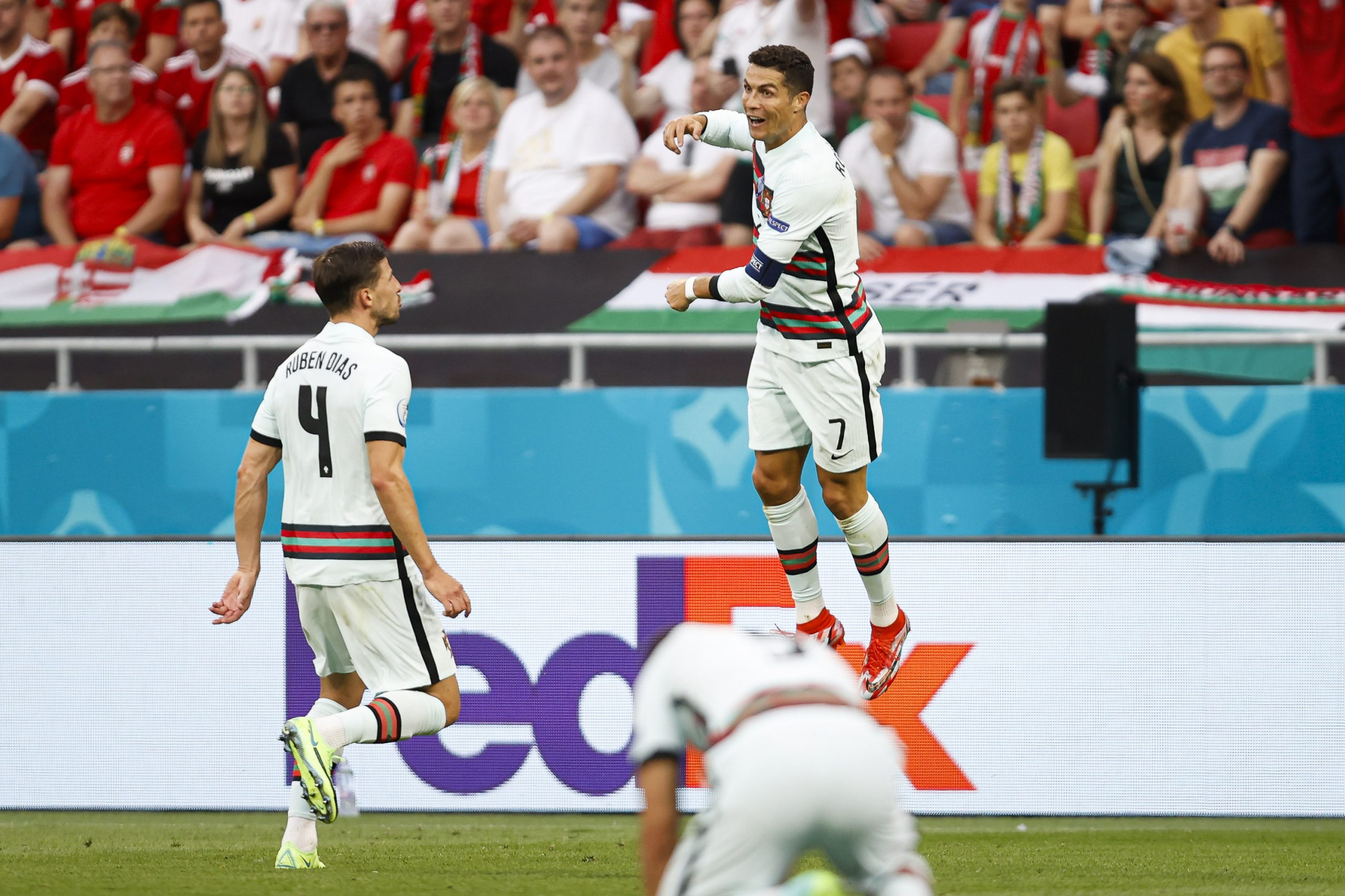 Cristiano Ronaldo. (@selecaoportugal /Twitter)