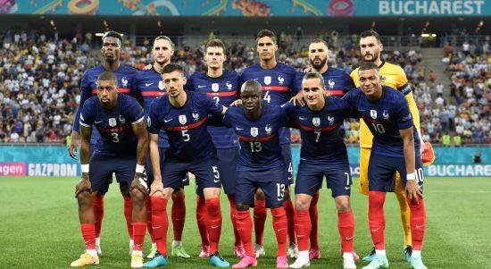 Punggawa tim nasional Prancis. (@FrenchTeam/Twitter)